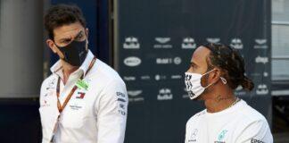Lewis Hamilton, Toto Wolff, Mercedes, racingline