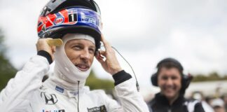 Jenson Button, Festival of Speed, Goodwood