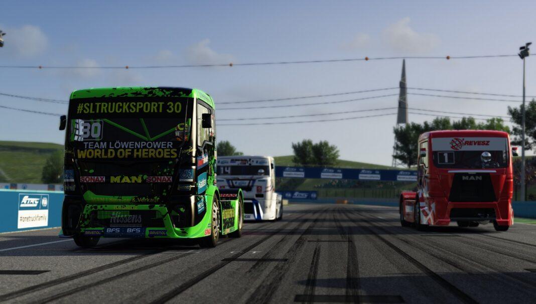 kiss norbert, sascha lenz, kamionos, kamionversenyzés