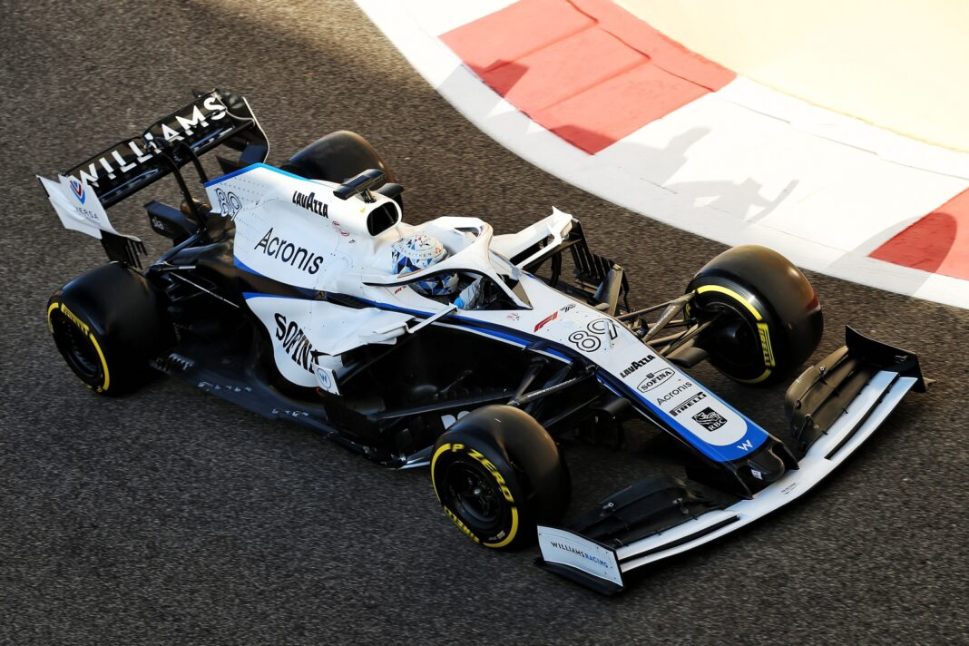 Jack Aitken, Williams, Abu Dhabi, racingline.hu