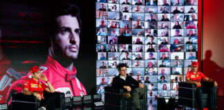 Ferrari, Charles Leclerc, Mattia Binotto, Carlos Sainz, racingline