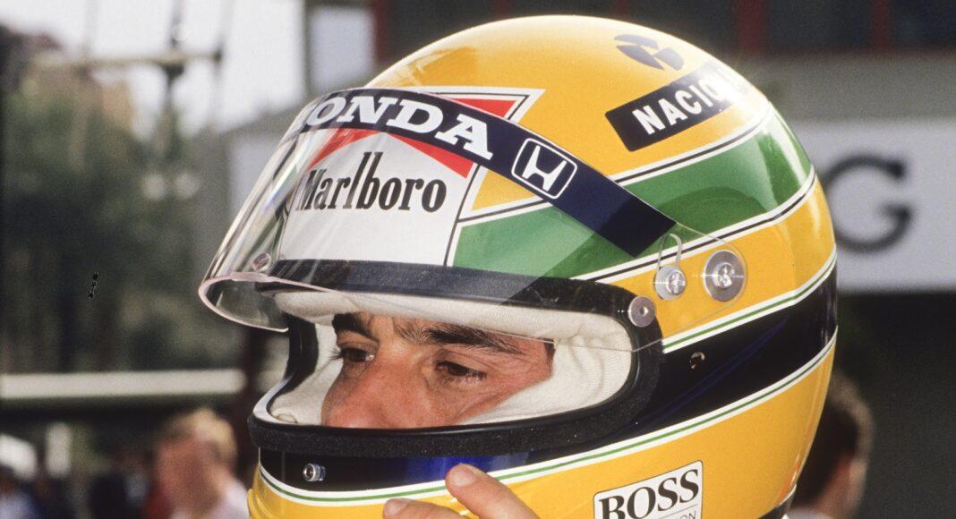 Senna, racingline