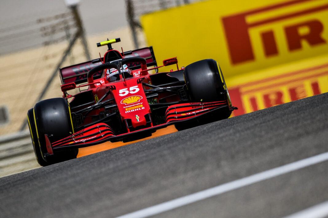 Ferrari, Carlos Sainz, racingline