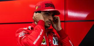 Sainz, racingline