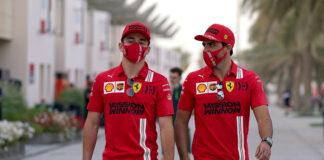 Carlos Saint Jr, Charles Leclerc, Ferrari