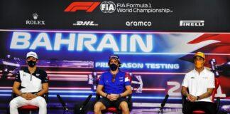Gasly, Alonso, Ricciardo, f1