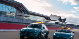 Aston Martin DBX Medical Car, Aston Martin Vantage Safety Car