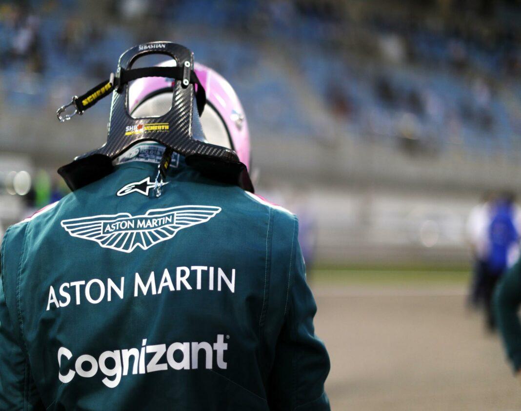 Sebastian Vettel, Aston Martin, racingline