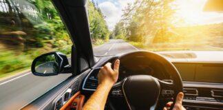 karbonlábnyom, autó, vezetés