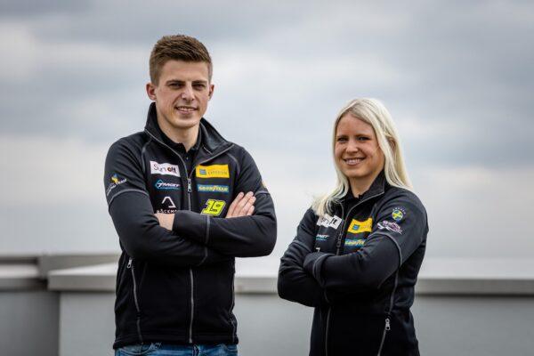 Andreas & Jessica Bäckman, Target Competition, Hyundai, WTCR, racingline.hu