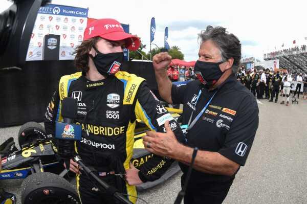 Michael Andretti & Colton Herta, Andretti Autosport, IndyCar, racingline.hu