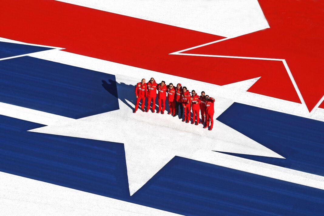 F1, Ferrari, Amerika, racingline