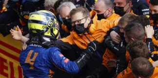 Lando Norris, Andreas Seidl, McLaren