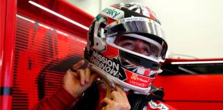 Leclerc, racingline