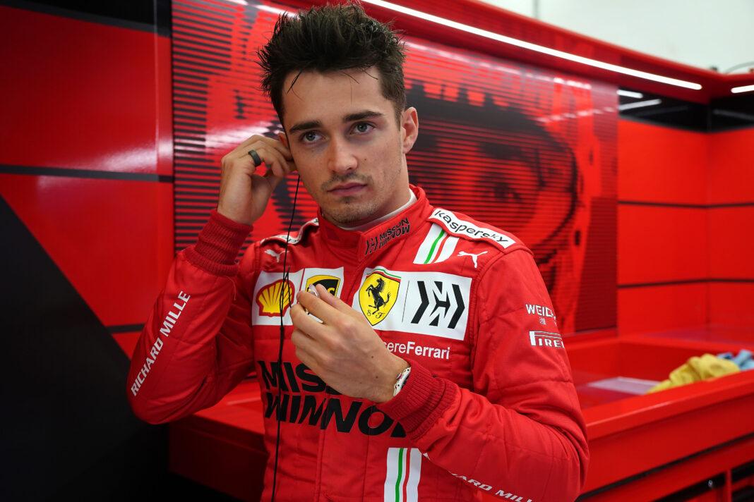 Charles Leclerc, Ferrari racingline