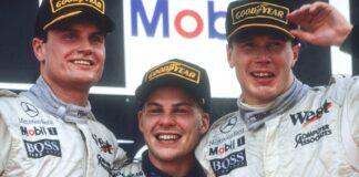 David Coulthard, jacques villeneuve, mika häkkinen