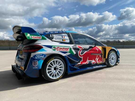 M-Sport Horvát Rally