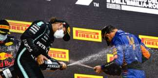 Hamilton, Norris & Verstappen, Imola, Emilia Romagna Nagydíj, racingline.hu