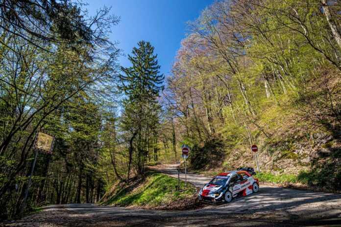 Horvát Rally shakedown