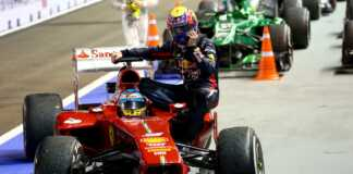 Mark Webber & Fernando Alonso, racingline.hu