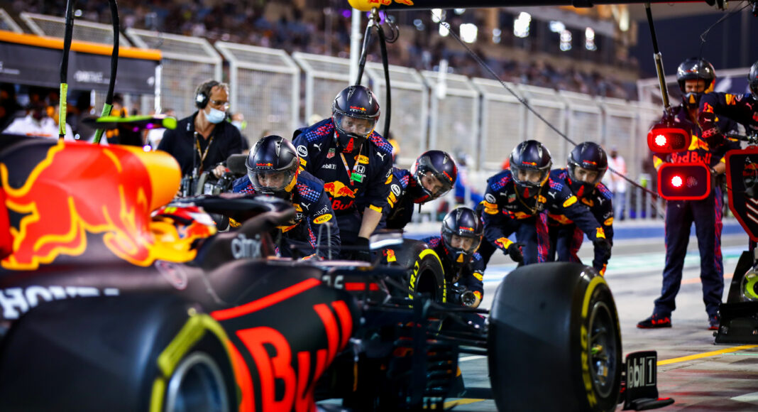 Red Bull, racingline, drive to survive