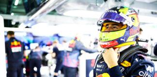 Pérez, racingline