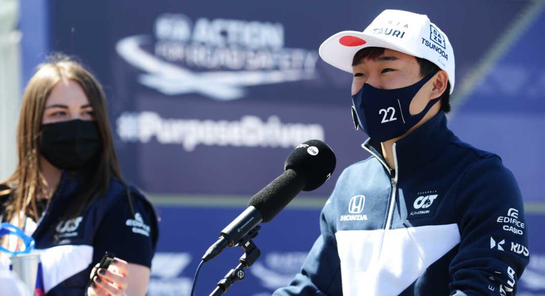 Yuki Tsunoda, racingline