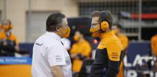 Andreas Seidl, Zak Brown, McLaren