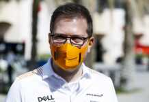 Andreas Seidl,, McLaren