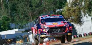 Portugal Rally shakedown