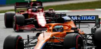 Daniel Ricciardo, McLaren, Carlos Sainz Jr, Ferrari
