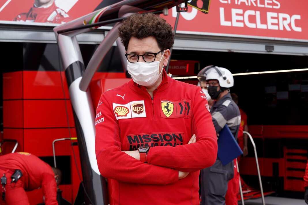 Mattia Binotto, Ferrari