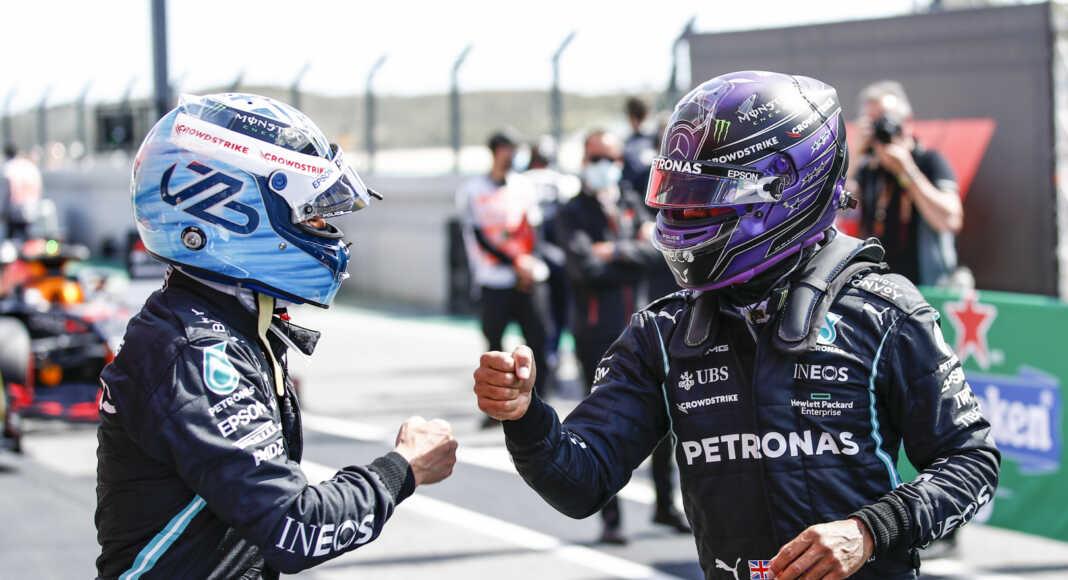 Valtteri Bottas Lewis Hamilton