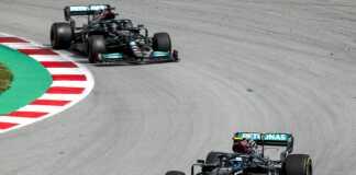 Valtteri Bottas & Lewis Hamilton, Mercedes, racingline.hu