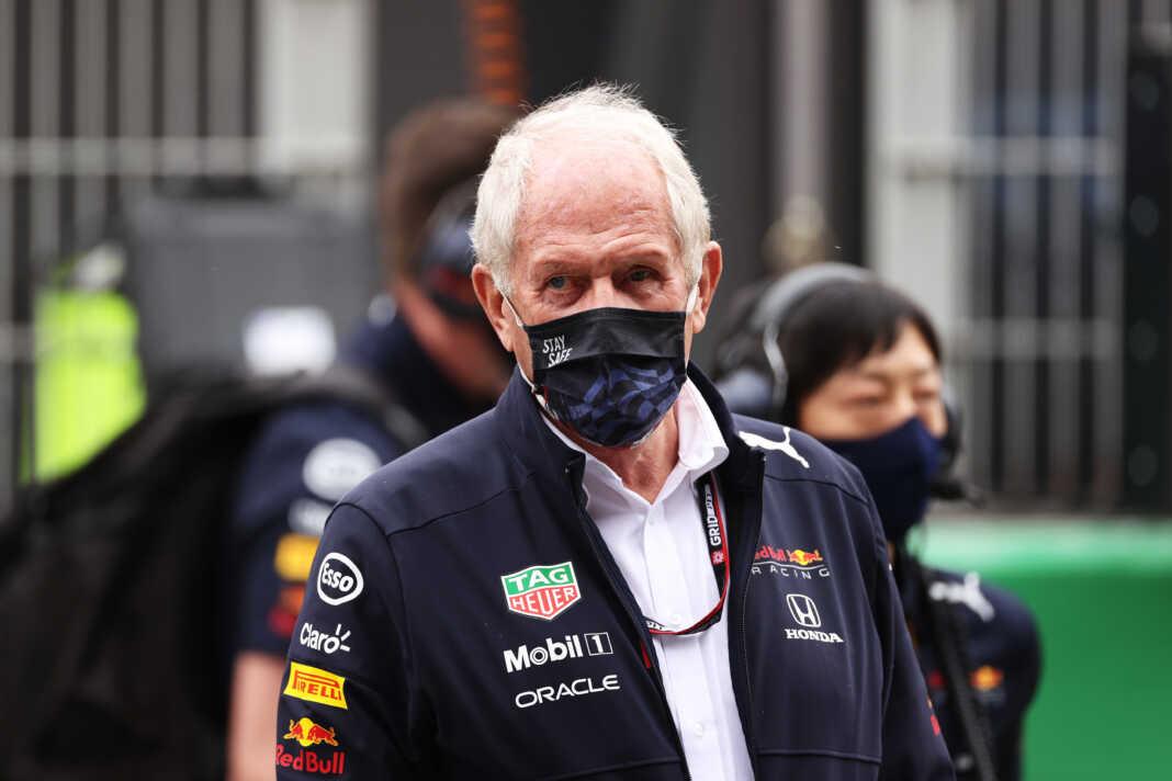 Dr. Helmut Marko, Red Bull, racingline
