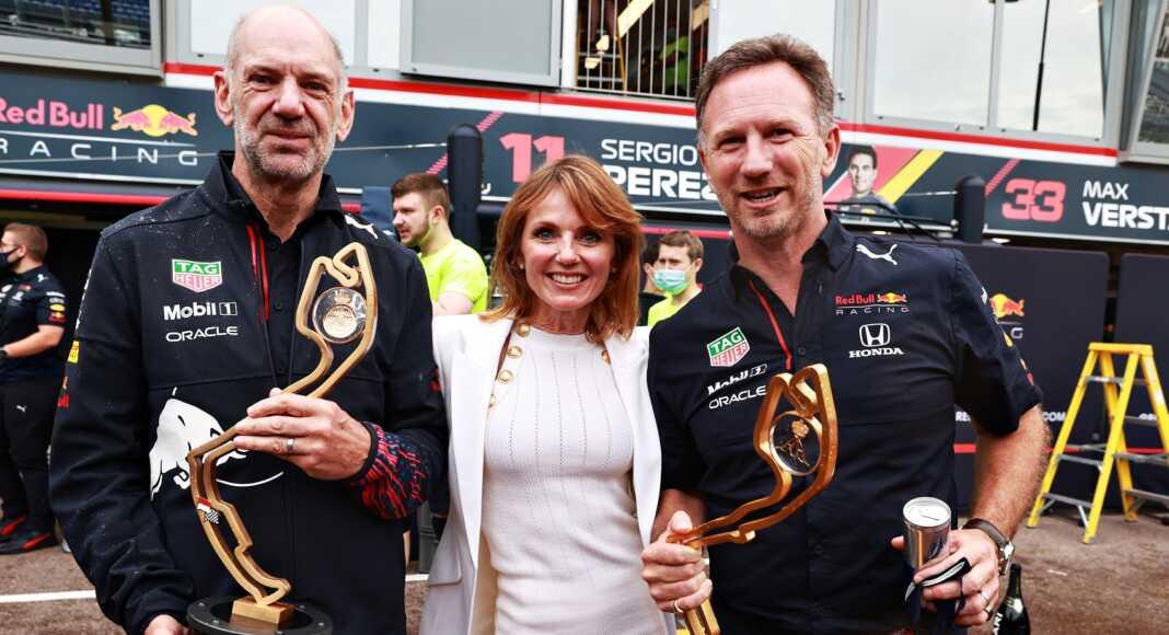 Adrian Newey, Geri Halliwell, Christian Horner, Red Bull