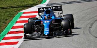 Fernando Alonso (ESP) Alpine F1 Team A521.