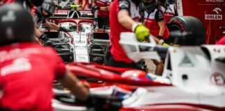 Alfa Romeo, Kimi Räikkönen Antonio Giovinazzi
