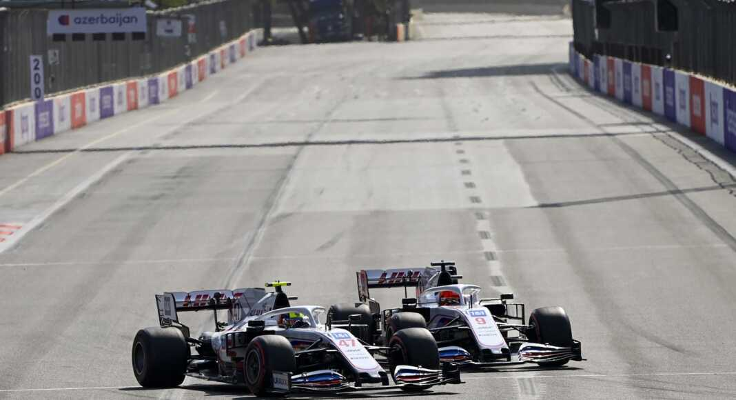 Nikita Mazepin & Mick Schumacher, Haas, F1, racingline.hu