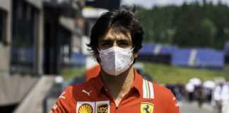 Carlos Sainz, Ferrari, F1, racingline.hu