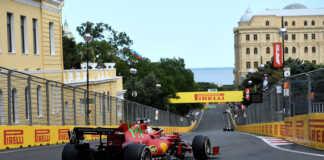 Charles Leclerc, Baku, Ferrari