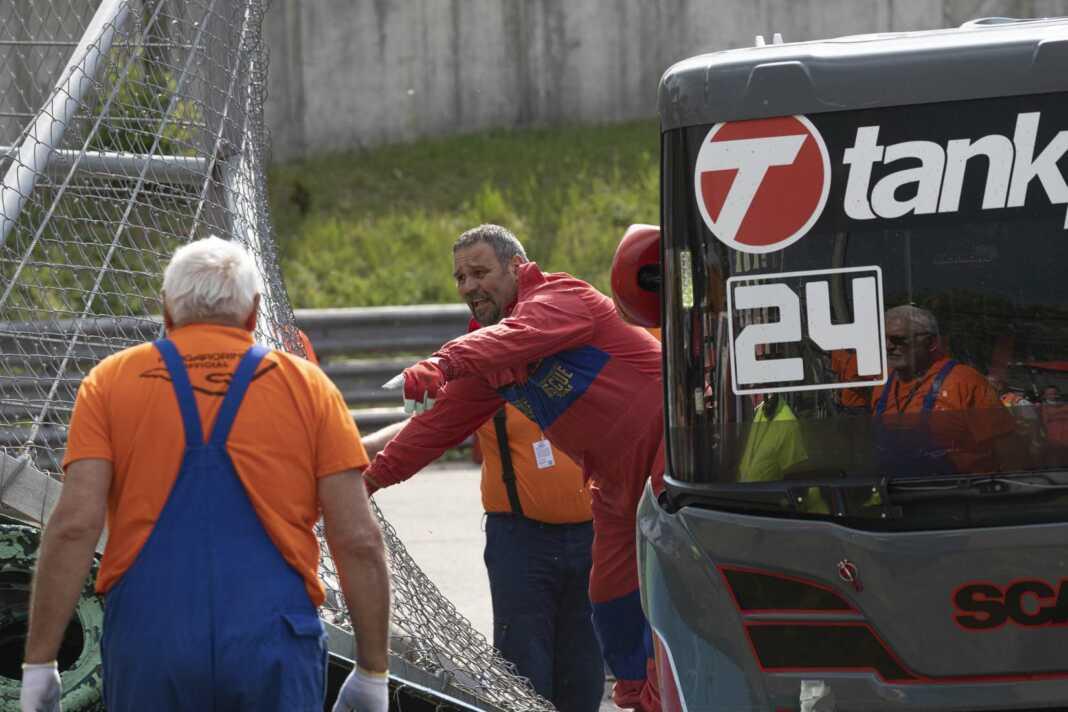 Steffen Faas, Tankpool 24, baleset