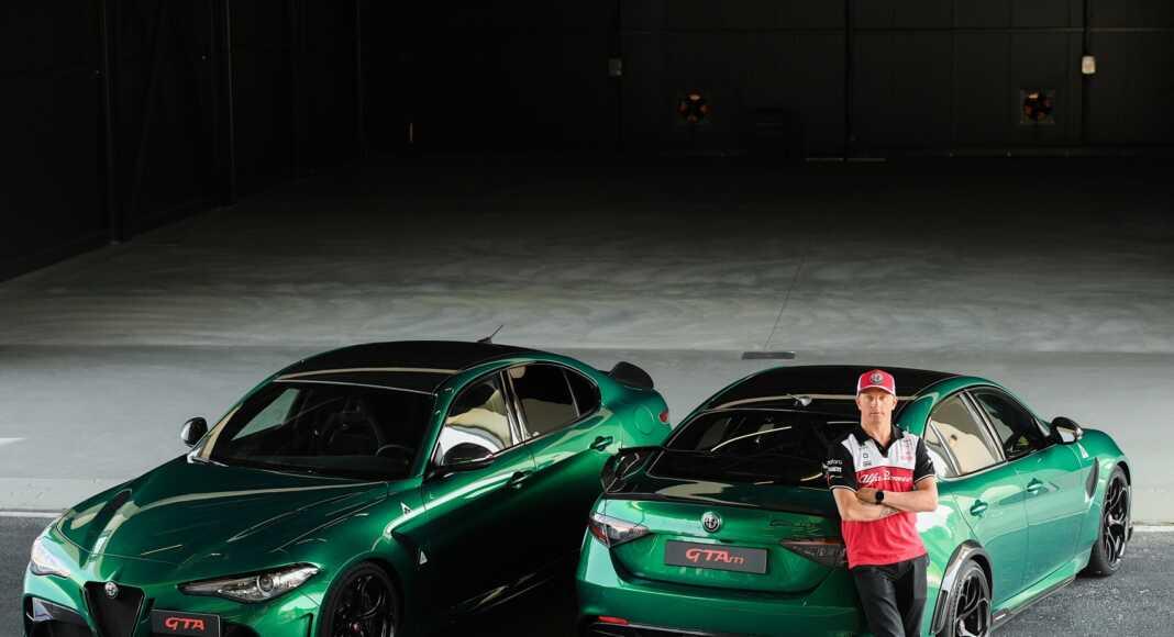 Kimi Räikkönen Giulia GTAm