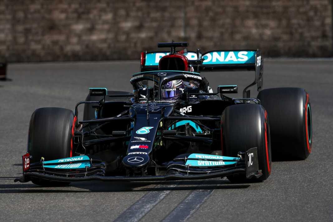 Lewis Hamilton, Mercedes, Baku