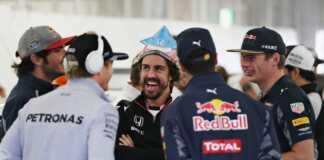 fernando alonso, nico rosberg, Daniel Ricciardo, max verstappen, Carlos Sainz