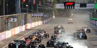 Sergio Pérez, Lewis Hamilton, Red Bull, Mercedes, Masi
