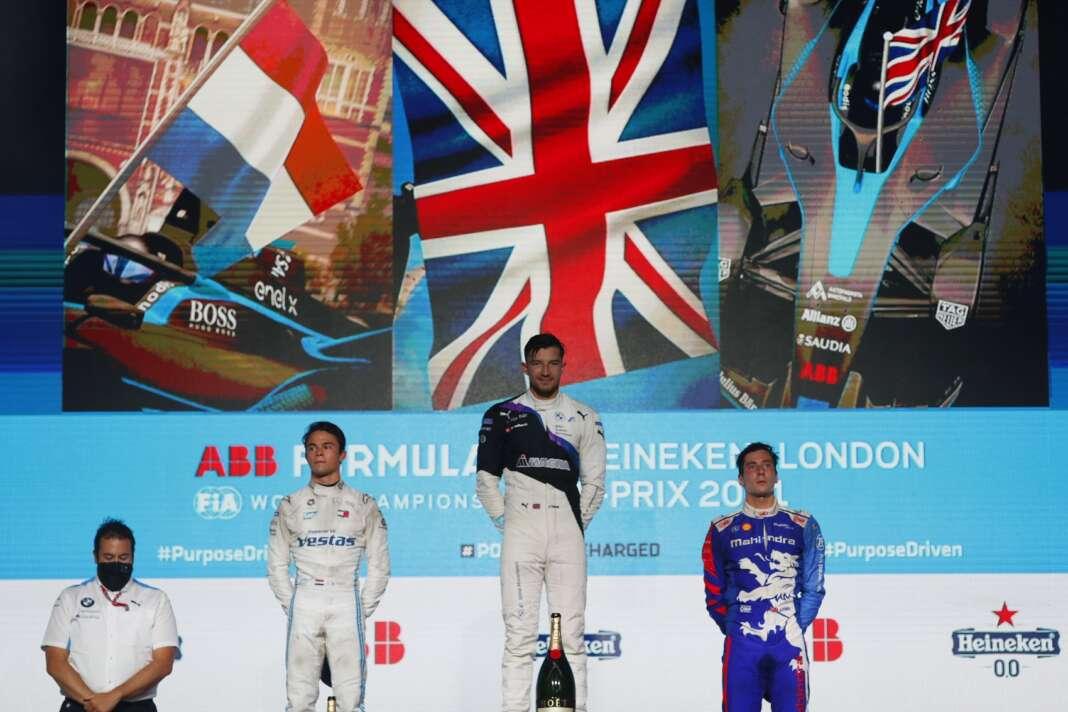 dobogó, London E-Prix, Formula E, racingline.hu