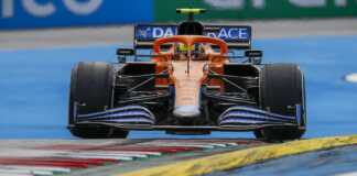 Lando Norris, McLaren, racingline.hu
