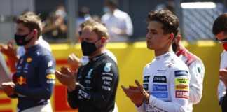 Lando Norris, Valtteri Bottas, Max Verstappen, McLaren, Mercedes, Red Bull
