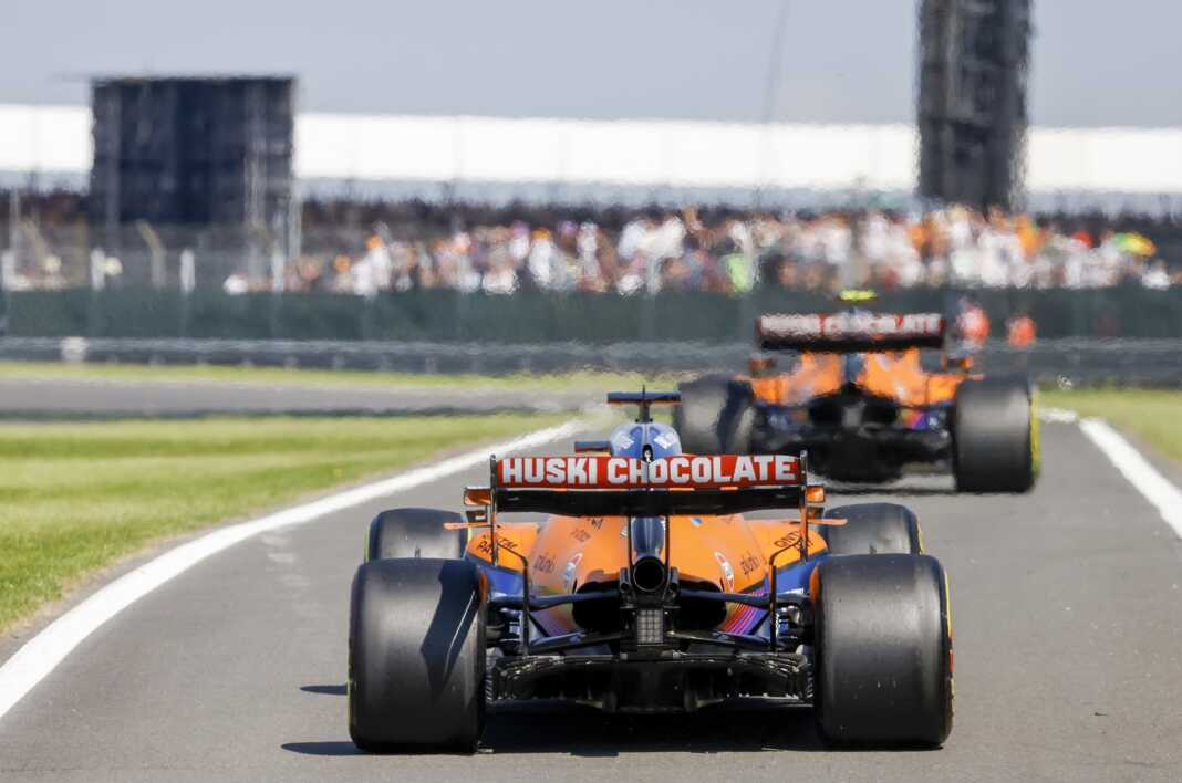 Daniel Ricciardo, Lando Norris, McLaren